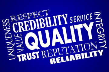 Quality Reputation Value Respect Competitive Advantage Word Coll
