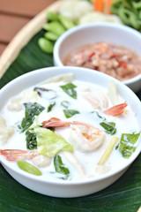 Shrimp Coconut Soup