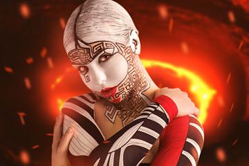 Woman wampire hell