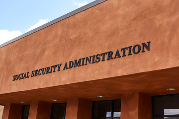Social Security Administration Sign