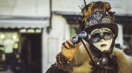 Steampunk venezia carnevale