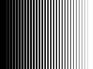 Halftone gradient lines Black vertical parallel stripes
