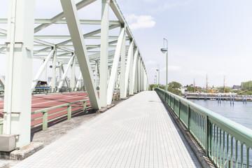 写真素材「相生橋(あいおいばし)東京都中央区佃」