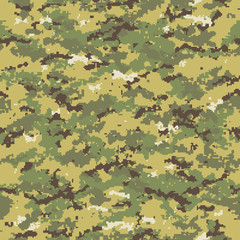 Digital seamless camouflage pattern.