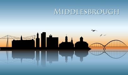 Middlesbrough skyline
