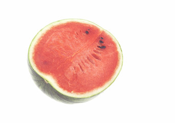 Fresh watermelon red meat