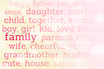 Family Tag Cloud