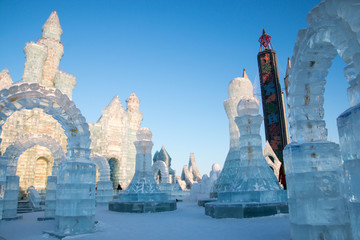 The ice sculptures of Harbin never cease to amaze.