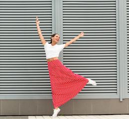Modern spanish dancer