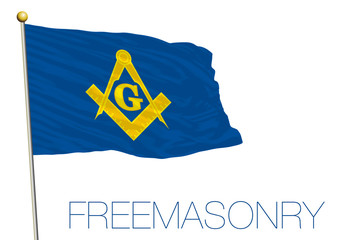 freemasonry organization flag