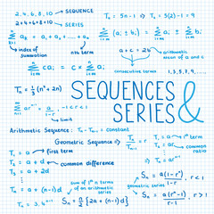Sketch Notes SEQUENCES & SERIES [MATH]