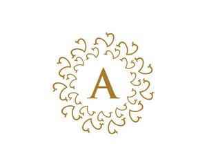 Royal Letter A Logo