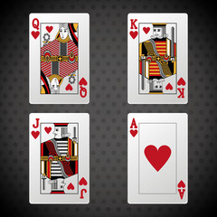 Poker design, cards and game concept ,, casino games