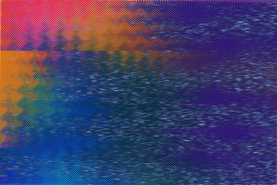 VHS Color Glitch Texture