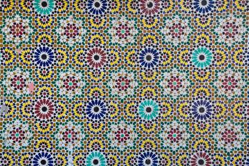 Marrakesch Mosaik Foto