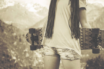 Youth hippie popular culture in America in the 1960s