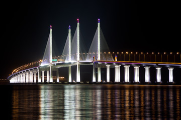 2nd Penang Bridge Light Up
