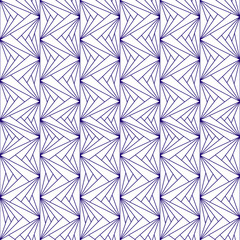 Vector illustration of a seamless repeating geometric pattern.