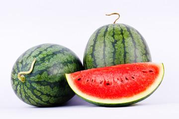 Watermelon is a healthy sweet fruit