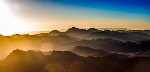 mountain view in israel Fototapete
