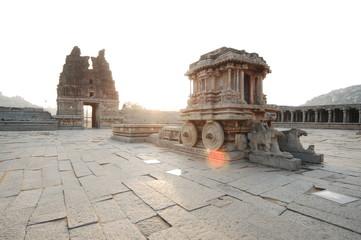 Temple in  Hampi Karnataka India