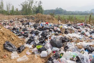 the garbage disposal pond