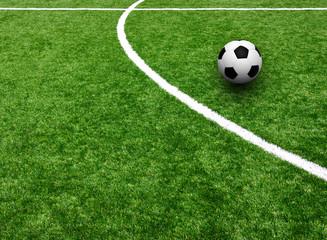 Soccer on the stadium