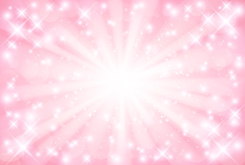 ピンク 光 背景