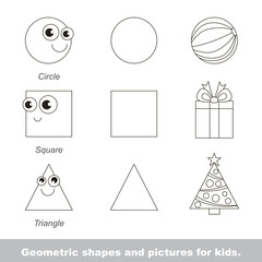 geometric shapes for kids