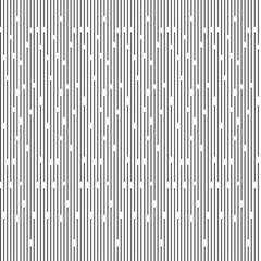 Seamless Pattern Black Line v.1