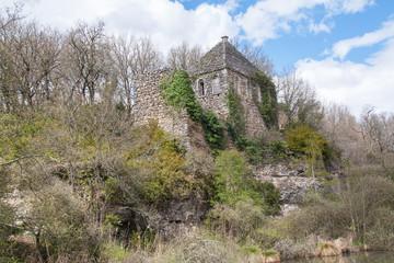 Site la léproserie, Lussac les châteaux, Vienne, France