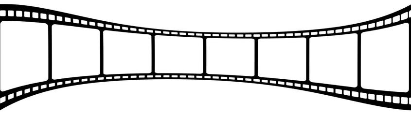 pellicule film photos, fond blanc