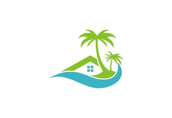 cottage beach hotel logo