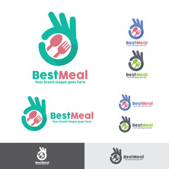 Best Meal Food Logo