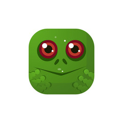 Frog  Square Icon