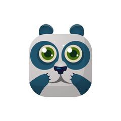 Panda Square Icon