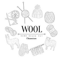 Wool Vintage Sketch