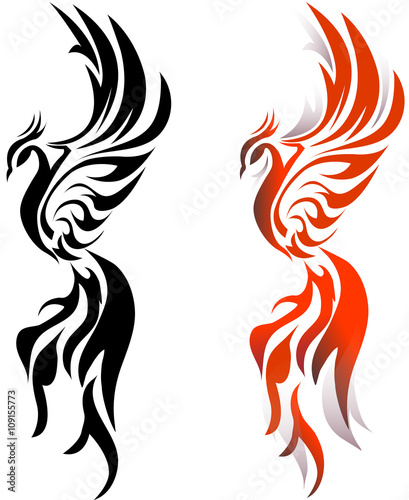 quot phoenix fire bird quot  stock image and royalty free vector Black and White Cross Clip Art Celtic Cross Clip Art Black and White