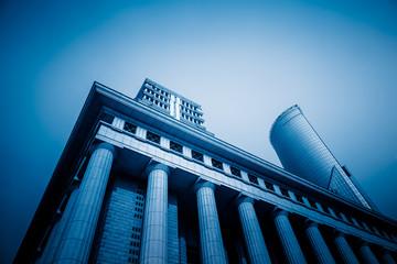 corner of modern building,shanghai