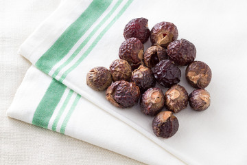Soapnuts on Clean Linen