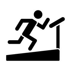 running sport fitness icon