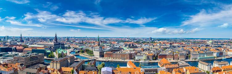 Tuinposter Scandinavië Copenhagen panorama
