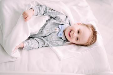 Laughing Baby Boy having fun