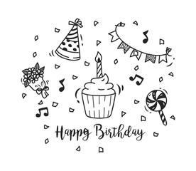 birthday doodle