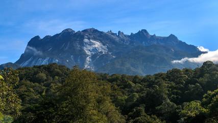 Mount Kinabalu National Park, Sabah Borneo / View of Mount Kinabalu / Mount Kinabalu view form Kundasang Nation Park / Mt. Kinabalu