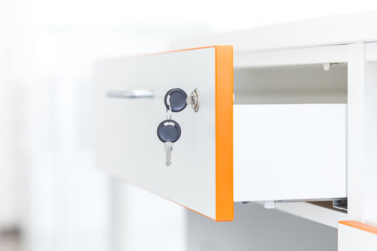 Drawers with a lock