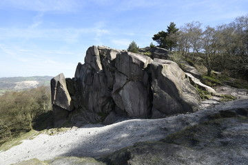 Black Rocks, Derbyshire.