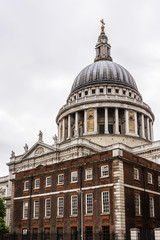 St. Paul Cathedral in London (1711). UK.