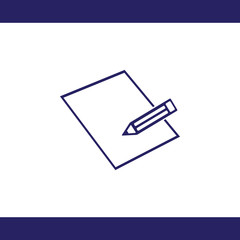 Pensil vector icon