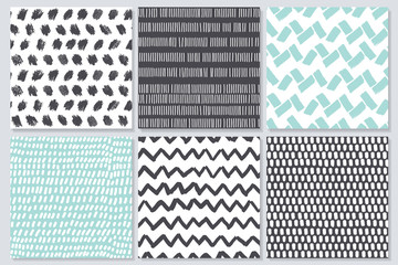 Abstract seamless patterns with texture